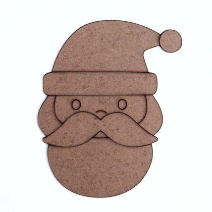 Recorte de MDF Coleção Natal - Papai Noel 01 - 10 cm f49d0815ad3