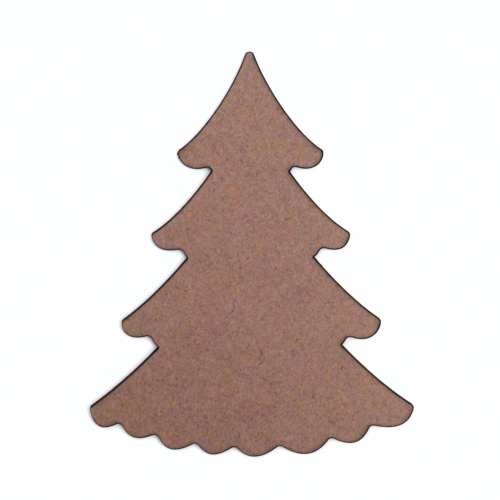 Recorte De Mdf Coleção Natal árvore 05 5 Cm