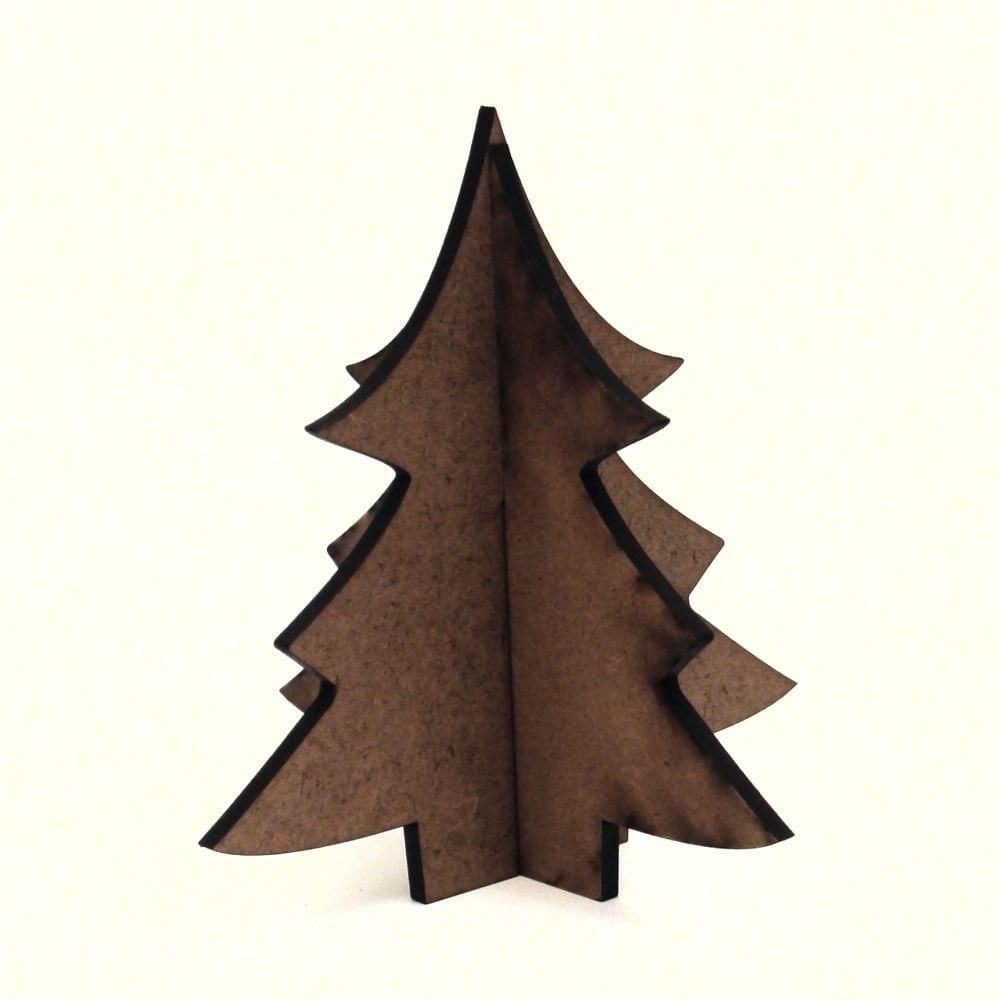 Recorte De Mdf Coleção Natal árvore 08 10 Cm
