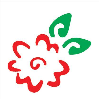 10x10-Simples---Flor-Estilizada---OPA147---Colorido