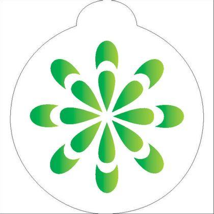 10X10-Redondo---Flor-Estilizada---OPA853---Colorido