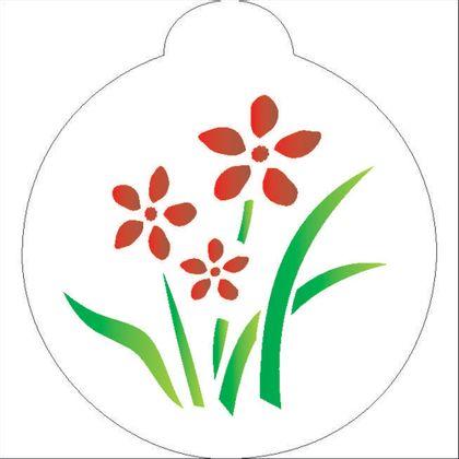 10X10-Redondo---Flores---OPA838---Colorido