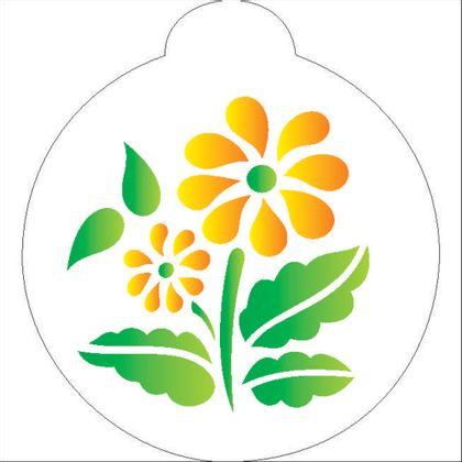 10X10-Redondo---Flores-II---OPA839---Colorido