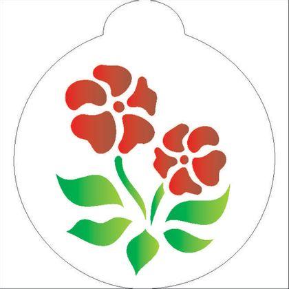 10X10-Redondo---Flores-III---OPA840---Colorido