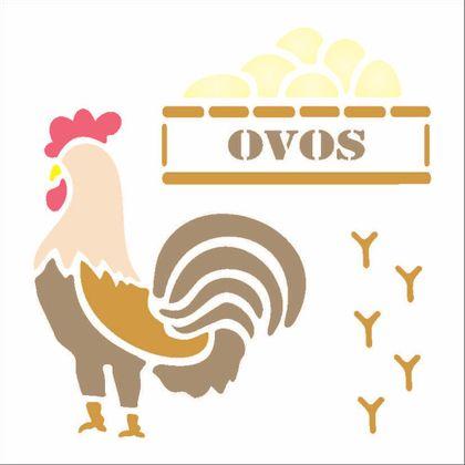14x14-Simples---Galinha-Ovos---OPA1057---Colorido
