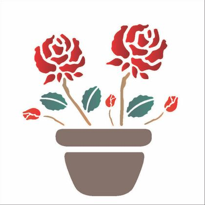 14x14-Simples---Vaso-com-Rosas---OPA1003---Colorido
