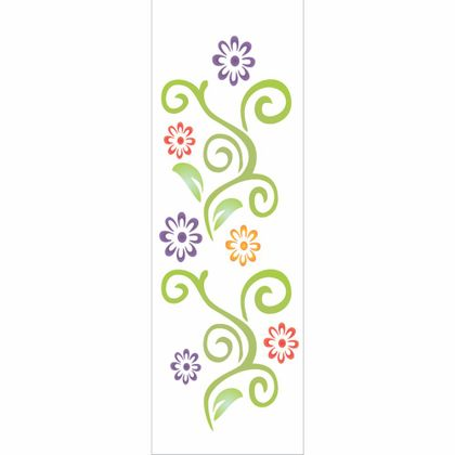 10X30-Simples---Arabesco-Flores---OPA960---Colorido