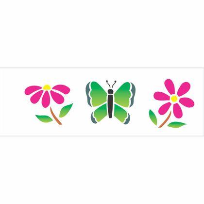 10x30-Simples---Borboletas-e-Flores---OPA431---Colorido