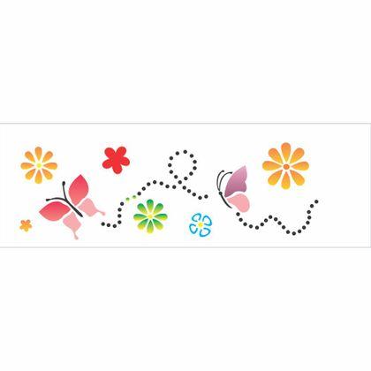 10x30-Simples---Borboletas-e-Flores-III---OPA480---Colorido