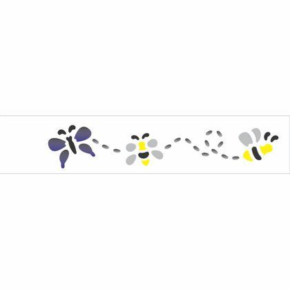06x30-Simples---Abelhas-e-Borboleta---OPA815---Colorido