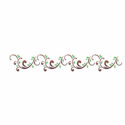 06x30-Simples---Arabesco-Folhas-II---OPA1124---Colorido