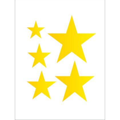15x20-Simples---Estrelas-Patchwork---OPA371---Colorido