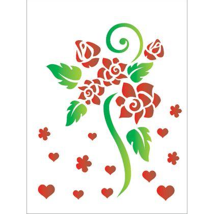 15x20-Simples---Flores-Rosas-Romanticas---OPA756---Colorido
