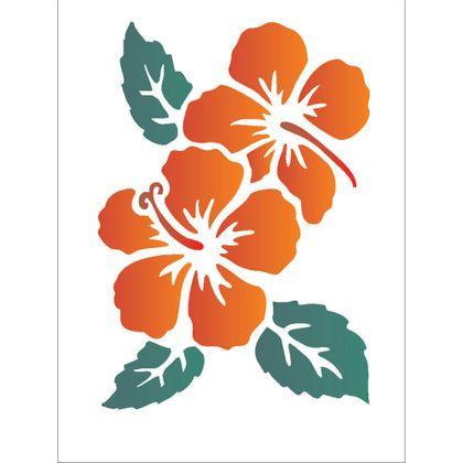 15x20-Simples---Flores-Hibiscos-II---OPA1012---Colorido