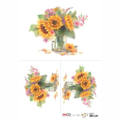 OPAPEL-30X45---Flor-Girassol-I---2482---7898507338121