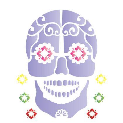 20x25-Simples---Caveira-Mexicana---OPA1180---Colorido