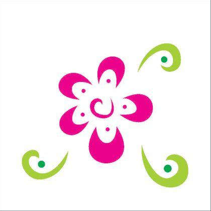 10x10-Simples---Flor-Estilizada-III---OPA363---Colorido