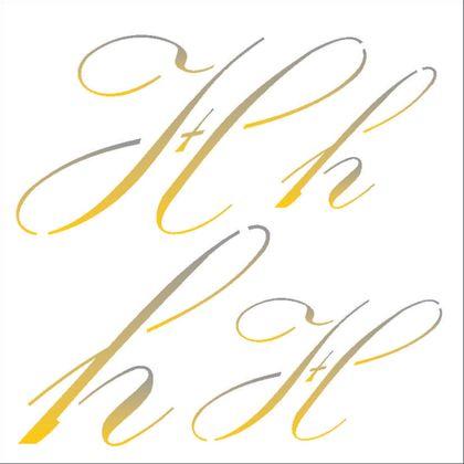 14x14-Simples---Manuscrito-H---OPA1803---Colorido