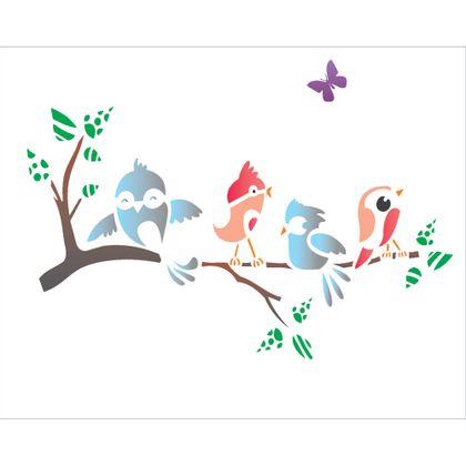 20x25-Simples---Galho-com-passarinhos---OPA1328---Colorido