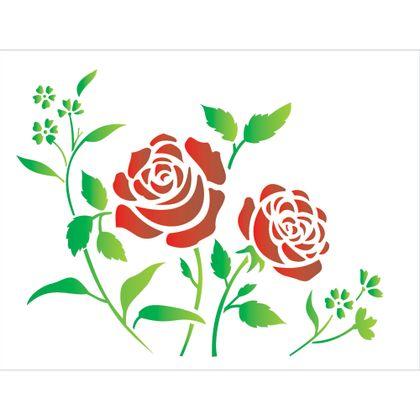 32x42-Simples---Flores-Roseira---OPA1422---Colorido