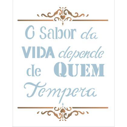 20x25-Simples---Frase-O-Sabor-da-Vida---OPA2186