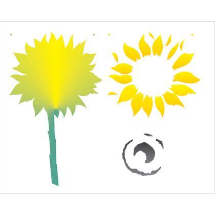 20x25-Simples---Flor-Girassol-II---OPA2062---Colorido