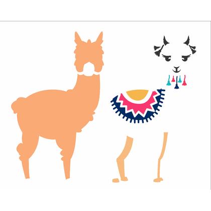 20x25-Simples---Animais---Lhama-I---OPA2580