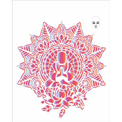 20x25-Simples---Mandala-Buda---OPA2726