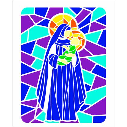 20x25-Simples---Vitral-Nossa-Senhora-II---OPA2741