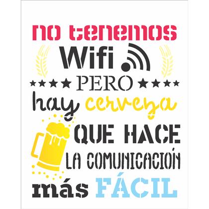 20X25-Simples---Frase-No-Tenemos-Wifi---OPA2860