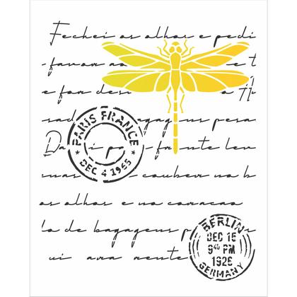 3096---20x25-Simples---Carta-Antiga-Libelula
