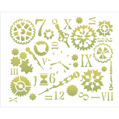 3115---20x25-Simples---SteamPunk-Art-Engrenagens