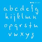 3131---10x10-Simples---Alfabeto-Micro-Minusculo-15cm