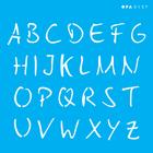 3137---14x14-Simples---Alfabeto-Micro-Maiusculo-2cm