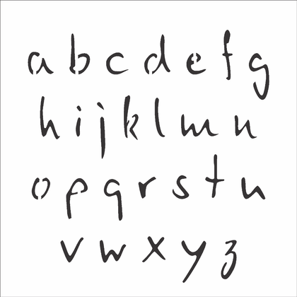3138---14x14-Simples---Alfabeto-Micro-Minusculo-2cm